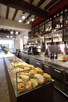 Le Malve, Parma, IT - counter display