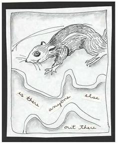 Little Rodenty - Pen, Pencil, Text