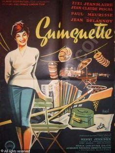 GUINGUETTE affiche de cinéma : guinguette