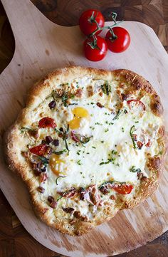 Sourdough Breakfast Pizza | Crepes of Wrath