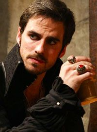Captain Hook never looked so yummy...  from the Once Upon a Time series.