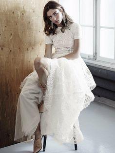 H&M Eco Wedding Dress  #BridalTribe