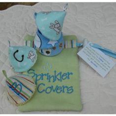 In The Hoop :: Baby & Children :: Baby Boy Sprinkler Covers - Embroidery Garden In the Hoop Machine Embroidery Designs