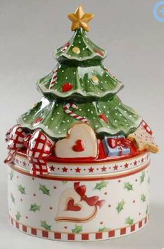Villeroy & Boch, Winter Bakery Delight - Page 1 Christmas China, Christmas Dishes, Noel Christmas, Vintage Christmas, Xmas, Cute Christmas Cookies, Cute Cookies, Villeroy Et Boch Noel, Teapot Cookies