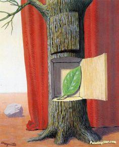 Le Premier Secret René Magritte (1955) Private collection Painting - gouache