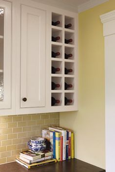 I'm gonna need wine bottle storage!