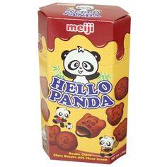 Hello Panda Double Chocolate biscuit 50g