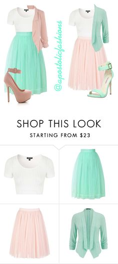 """""""Apostolic Fashions #1126"""" by apostolicfashions on Polyvore featuring Topshop, Chicwish, Ted Baker, maurices and Steve Madden"""