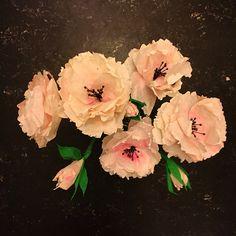 My stuff// paper flowers - paper art - paperlover - coffee filters - DIY - skidtogkanel - kirstine Kirk