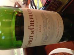 L'Esprit de Chevallier - Pessac Leognan 2008 Clearly too young to be opened just yet but still a very solid bottle
