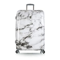 "Heys Bianco White Marble 26"" Spinner Luggage Gel Cushion, Laptop Bags, Online Bags, White Marble, Briefcase, New Fashion, Print Design, Store, Hair"