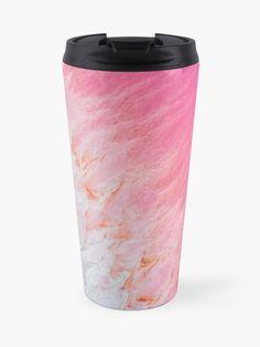 """Kalbarri Pink Salt Lake- Western Australia "" Travel Mug by Kirkulles   Redbubble Australia Travel, Western Australia, Custom Mugs, Travel Mug, Salt, Tableware, Pink, Dinnerware, Tablewares"