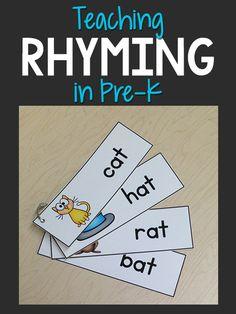 Teaching Rhyming in Pre-K - PreKinders