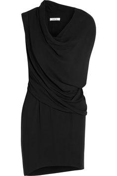 Draped jersey dress by Helmut Lang