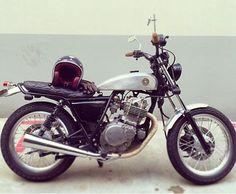 Suzuki GN250 Tracker Custom by Custom Burner Singapore. For more information please visit www.customburner.com