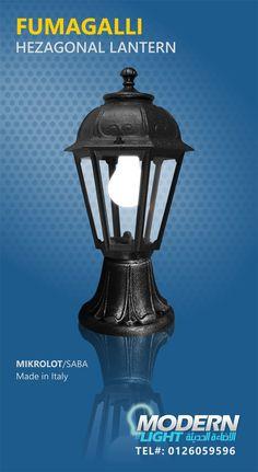 FUMAGALLI HEXAGONAL LANTERN MODERNLIGHT - JEDDAH - TEL#: 0126059596 #Modernlight, #modernlightJeddah, #modernlightksa