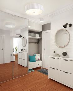 58 Scandinavian Wardrobe To Add To Your List - Futuristic Interior Designs Technology Home Staging, Sweet Home Design, Sliding Wardrobe Doors, Futuristic Interior, H & M Home, House Entrance, Design Case, Scandinavian Interior, Scandinavian House