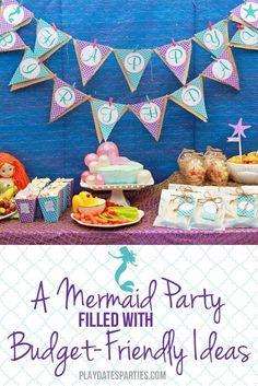 A Mermaid Themed Par