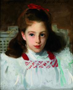 John Singer Sargent - Portrait of Dorothy Vickers (c. 1884)