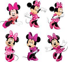 Fiesta de Minnie Mouse , cajitas, invitaciones, vestidos, dulceros gratis para imprimir | Manualidades