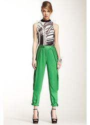 L.A.M.B. Tapered Pleat Silk Pant found on sale at NORDSTROM RACK 1 day ago