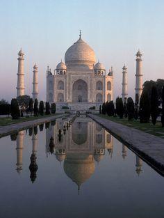 Les plus beaux sites du patrimoine mondial de l'unesco - taj mahal inde