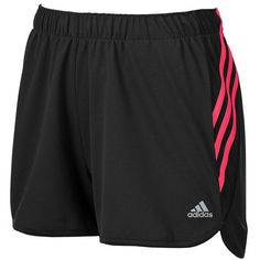 Women's Adidas Ultimate climate Knit Workout Shorts ($22) ❤ liked on Polyvore featuring activewear, activewear shorts, shorts, adidas, black, adidas activewear and adidas sportswear