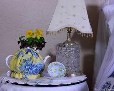 My Cozy Corner: Tea Time in the Guest Room