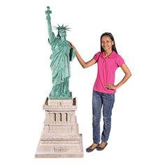 Design Toscano Liberty Enlightening the WorldGrand-Scale Statue on Pedestal