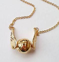 colar pomo de ouro - harry potter