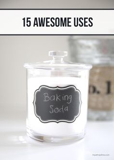 15 awesome uses for baking soda on iheartnaptime.com #tips