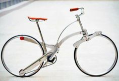 Sepeda yang bisa dilipat sebesar payung!!