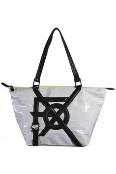Fox Womens Juxtapose Tote Bag White