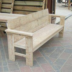 Banc sapin du nord - Design Wood Structure - Fabriquée en France par ...
