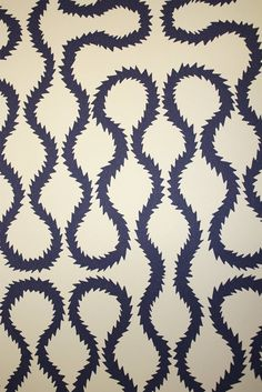 Vivienne Westwood's Squiggle Print wallpaper from Cole & Son at Lee Jofa