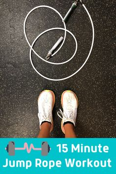 On days that are nuts all I need is just 15 minutes to get an awesome total body workout. The solution is jumping rope. Here's how to get an efficient jump rope workout -- get the Crossrope app and ropes and start jumping. #workouts Jump Rope Workout, Total Body, Ropes, Fun Workouts, Ski, Health Fitness, How To Get, Exercise, Healthy