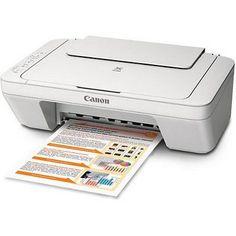 Canon PIXMA MG2520 Inkjet Photo All-in-One Printer - Print, Copy, Scan