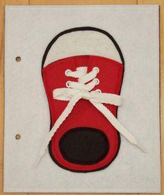 Scarpa pizzo cravatta libro tranquillo pagina di KicksAndGrins
