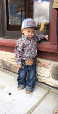 Get a Baby Clothes. Get a - Cute Adorable Baby Outfits Western Baby Clothes, Western Babies, Baby Kids Clothes, Country Babies, Country Baby Clothes, Country Baby Photos, Newborn Baby Clothes, Little Country Boys, Baby Newborn