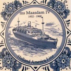 Trasatlántico Maasdam IV 1952-1968, Holanda