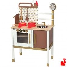Janod // Chic houten keukentje inclusief accessoires, Janod