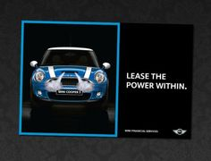 Lease the power within | Mini Cooper