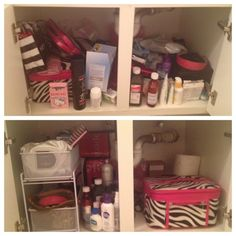 great guide on how to organize small spaces, starting with under the bathroom sink