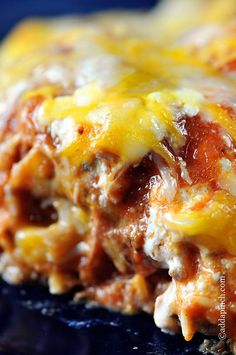 Enchilada Casserole makes a perfect weeknight or weekend meal to serve family and friends. Enchilada Casserole is comfort food that feeds those spicy cravings. Get this family favorite enchilada casserole recipe and make it your own!