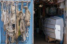 Ropes #photography  #fujifilmxt2 #beach #blue #boat #doors