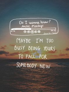 Do I Wanna Know? - Arctic Monteys #lyrics #arcticmonkeys #doiwannaknow
