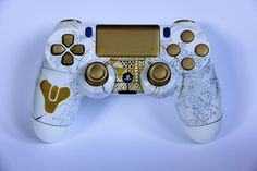 Custom Destiny Playstation 4 controller or shell! - handpainted unique and royal