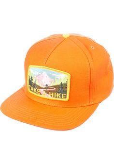 Skate-Mental Take-A-Hike, Cap, orange Titus Titus Skateshop #Cap #AccessoriesMale #titus #titusskateshop