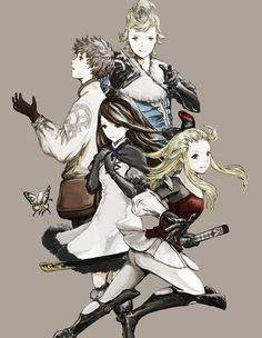 Yay, it's Bravely Default demo time in the U.S. ⊟ Yay, a...
