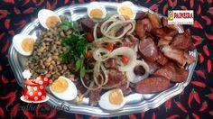 Arrumadinho de Carne seca, feijão fradinho e defumados - Cozinha Simples da Deia
